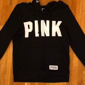 Victoria's Secret PINK Full Zip Sweatshirt. Size M